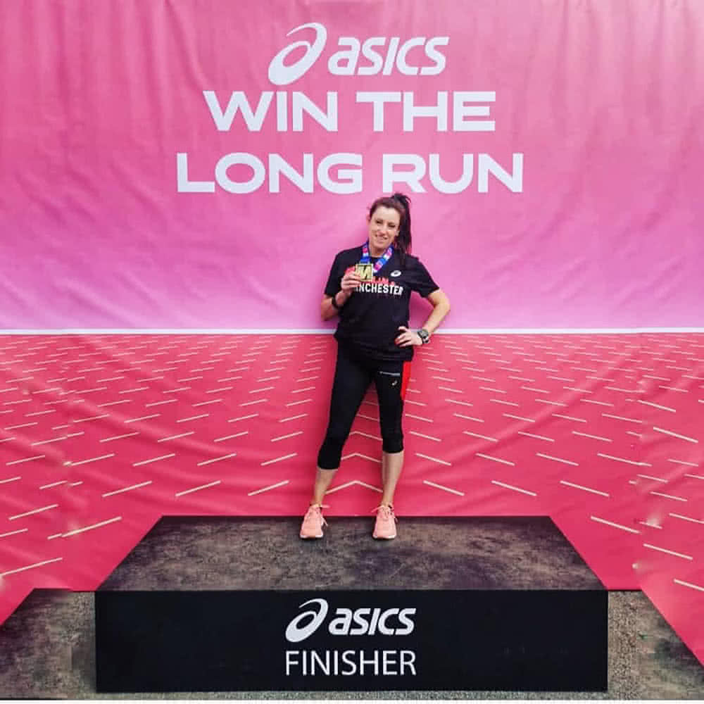 Asics Win the Long Run Rachel