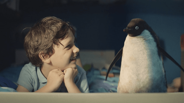 John lewis penguin advert