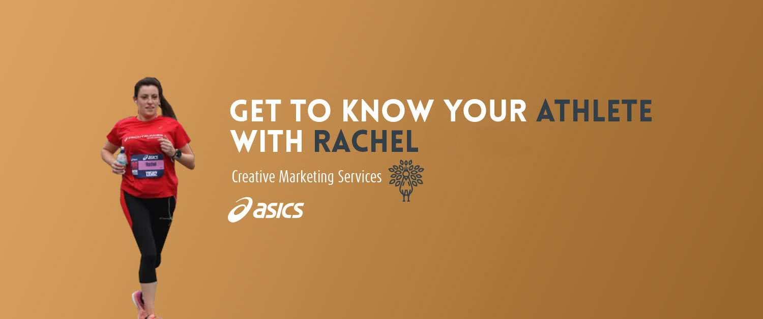 Rachel is now an Asics Frontrunner