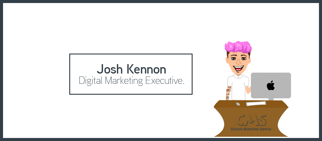 Joshua Kennon is CMS' newest edition to the Digital Department